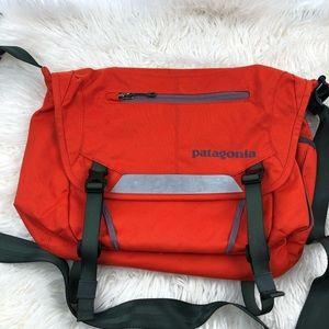 patagonia crossbody orange bag